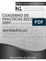 Ejercicios de matemáticas 3º Sec para Prueba Enlace