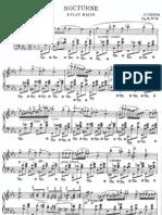 Chopin, Nocturne in Eb Major