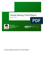 Social Gaming Trend Report