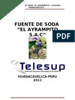 Plan de Negocio Fuente de Soda Correcion 2011