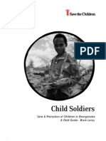 Child Soldiers Care and Protection