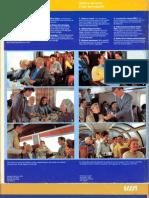 VIA Rail National Timetable - Indicateur National Oct. 30, 1988