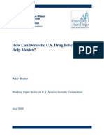 How Can Domestic U.S. Drug Policy Help Mexico, REPLICA