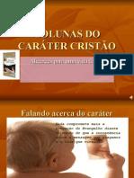 COLUNAS DO CARÁTER CRISTÃO - slide