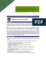 SWOT& Financial Data Pakistan Petroleum Limited