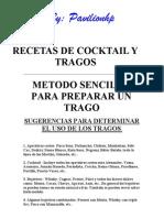Recetas de Cocktail y Tragos
