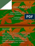 Case AsmA Bronkial dang