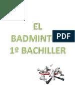 badminton 1º bachiller