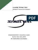 Minesweeper Datasheet 1
