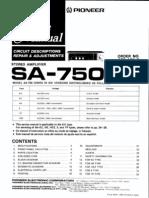 Pioneer Sa750