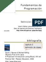 Fundamentos de Programacion POO