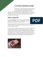 Rocket Stove Design Guide