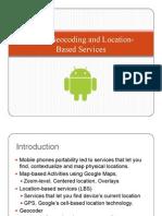 Maps, Geocoding & Location-Based Services