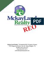REO Resume in PDF
