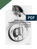 INEI - Peru TICs en Las Empresas 2006-2007