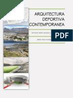 ARQUITECTURA DEPORTIVA CONTEMPORANEA