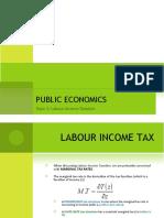 Labour Income Taxation