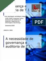Govenança e auditoria de TI - 2009-Cnasi