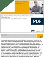 Best Practices for Web Intelligence on Top of SAP NetWeaver BI