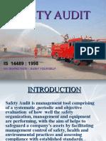Safety Audit Ppt Representation