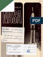 Historical Sketch of NASA