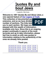 1001 Quotes by and About Jews