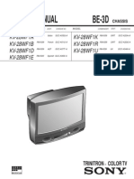 Sony Service Manual KV-28WF1x