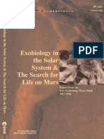 Exobiology in the Solar System and the Search for Life on Mars