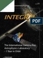 Integral the International Gamma-Ray Astrophysics Laboratory 1 Year in Orbit
