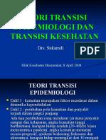 Kesmas070825 Drs Sukamdi Teori Transisi Epidemiologi Transisi Kesehatan
