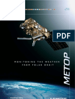 METOP Monitoring the Weather From Polar Orbit