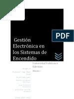 Gestión Electrónica en los Sistemas de Encendido