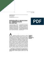 Introducao a Sociologia Da Adm Justica RCCS21