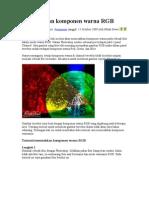 Memisahkan Komponen Warna RGB