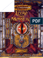 D&D 3.5 - Basico 3 - Livro Dos Monstros BR