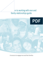 Working With Men - A resource to engage men and their families