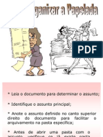 GED INFORMATIZACAO Como Organizar a Pepelada Ppt