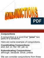 Conjunctions Group 6 Ums