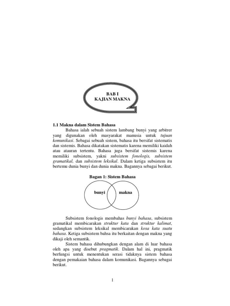 Struktur Makna
