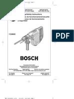 IBJSC.com - Bosch 11236VS 7.5 Amp 1-1/8-Inch SDS Rotary Hammer - Product Manual