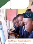 Uso de Tics en El Sector Educativo a Nivel Nacional