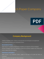 Birch paper company case study solution ppt