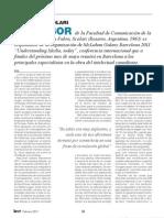 Entrevista a Carlos A. Scolari en Revista LEER - Febrero 2011