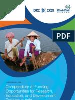 World Fish Asia_Compendium of Funding Opportunities