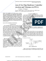 10.IJAEST Vol No 5 Issue No 2 an Implementation of on Chip Hardware Controller for Fault Detection and Tolerance in FPGA 163 165