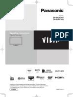Panasonic Viera Manual TH-P42V20