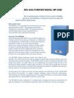 Sircal Gas Purifier