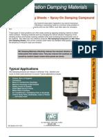 014-1001_Vibration Damping Materials
