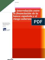 La interrelación entre la financiación de la banca española y el riesgo soberano