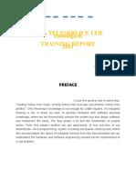 Tata Traning Report...